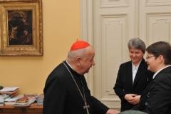 Rozmowa w gabinecie ks. Arcybiskupa