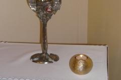 Relikwie o. Honorata w kaplicy w Warszawie